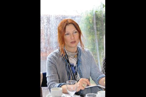 Elena Romanova of the Russian Cinema Fund